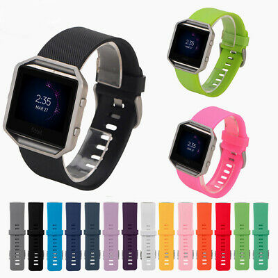AU5.54 • Buy Band Strap Silicone Replacement Waterproof Bracelet For Fitbit Blaze Smart Watch