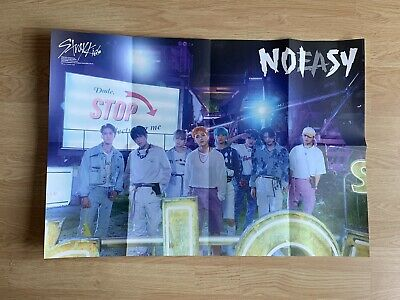 £4.95 • Buy Kpop StrayKids Official Thunderous No Easy Poster Pre Order