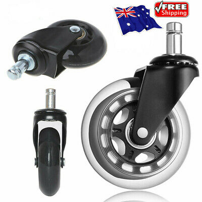 AU16.81 • Buy Rollerblade Office Desk Chair Wheels Replacement Rolling Caster Grip Ring Black