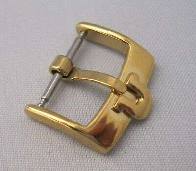 £19.95 • Buy SUPERB Omega Watch Buckle To Fit 18 Mm Strap Gold Plated Finish Great Condition