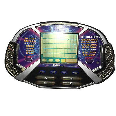 £5.03 • Buy Who Wants To Be A Millionaire Electronic Handheld Game- Tiger 2000*Tested Works*