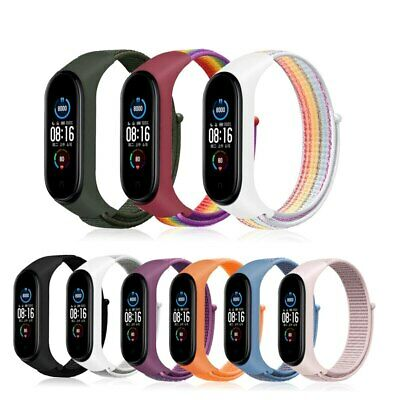 AU13.99 • Buy For Xiao Mi Band 6 5 4 3 2 Nylon Loop Watch Band WristStrap +Silicone Case Cover