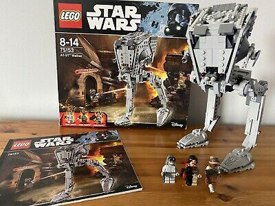 £45.99 • Buy LEGO Star Wars AT-ST Walker (75153) - 100% Complete, Boxed And Instructions