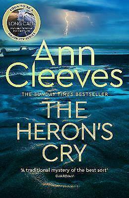 £10 • Buy The Heron's Cry By Ann Cleeves (Hardcover, 2021)