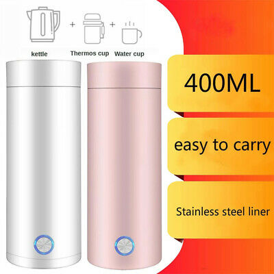 AU30.95 • Buy Portable Electric Kettle Heated Water Cup Household Boiling Cup Travel 400ml
