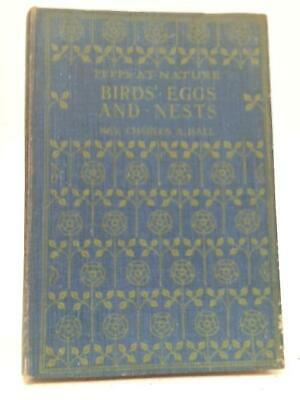 £8.13 • Buy Birds' Eggs And Nests (Rev Charles A. Hall - 1932) (ID:03692)