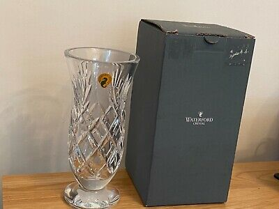 £49.95 • Buy Waterford Crystal Vase Woodmont Pattern 8  - BOXED & PERFECT