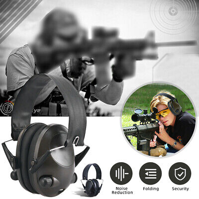 £25.64 • Buy Fold Electronic Ear Defenders Hearing Protector Noise Reduction Earmuffs Headset