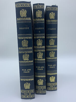 £42.39 • Buy War And Peace By Leo Tolstoy, Volumes I, II And III Complete Set Heron Books