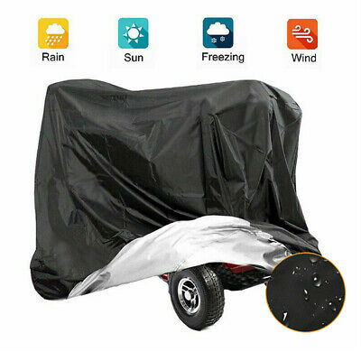 £10.59 • Buy Large Mobility Scooter Storage Shelter Rain Cover UV Protector Waterproof Cover