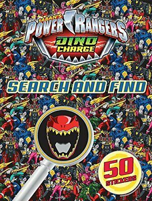 £5.95 • Buy NEW POWER RANGERS DINO CHARGE  SEARCH AND FIND Over 100 STICKERS