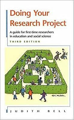 £4.31 • Buy Doing Your Research Project: A Guide For First-time Researchers In Education And