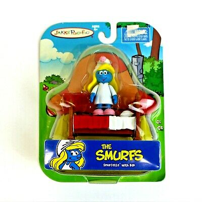 £10.99 • Buy The Smurfs Smurfette With Bed  2009 Jakks Pacific New In Package