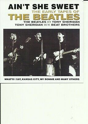 £0.99 • Buy The Beatles - Early Tapes Cd Album / Time Life Release / Tony Sheridan Beat Bros