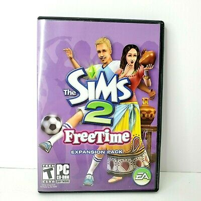 £10.86 • Buy The Sims 2 Freetime PC CD-ROM Game Complete 2008 Expansion Pack
