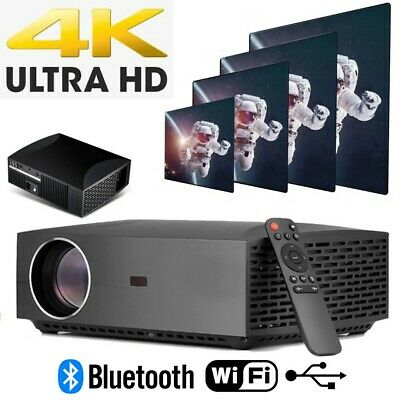 AU250 • Buy 4K HOME THEATRE PROJECTOR - Bluetooth/USB/WiFi Supported - Full HD 1920x1080