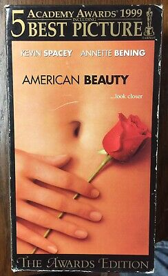 AU10.10 • Buy American Beauty Kevin Spacey Annette Bening VHS  Tape Movie Works Fine
