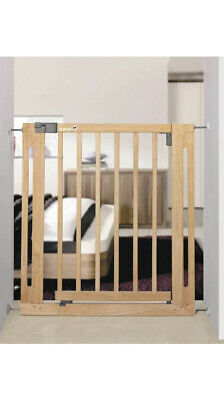 £50 • Buy Safety 1st Pet Baby Stair Safety Gate Barrier Guard Pressure Fit 73-80.5cm Wood