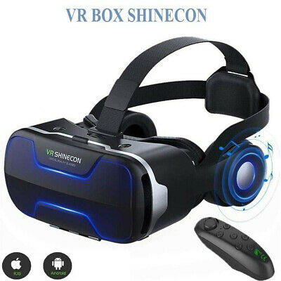 AU41.99 • Buy 3D Shinecon VR 4.0 Virtual Reality Headset Box Glasses For Android Game Movie