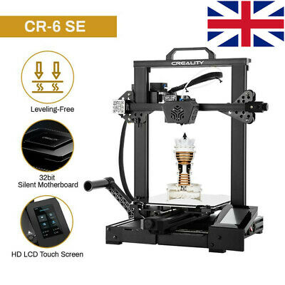 £149 • Buy Used Creality CR-6 SE 3D Printer Silent Motherboard  Dual Z-axis 235x235x250mm