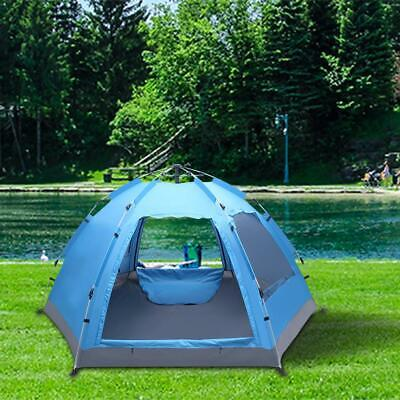 £57.80 • Buy Pop Up 3-4 Person Automatic Outdoor Hiking Camping Tent Waterproof UV Protection