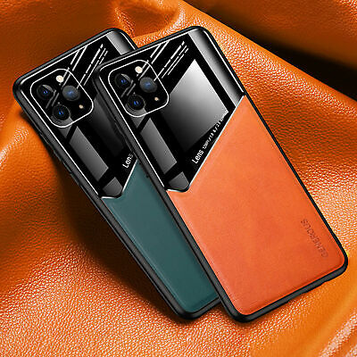 £4.85 • Buy Magnetic Leathe Case For IPhone 12 11 Pro Max XR 7 8 Plus XS MAX SE Cover