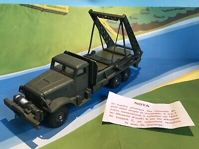 £44 • Buy Dinky Toys 884 French  Military Army Brockway Bridge Of Boat Laying Lorry Rare