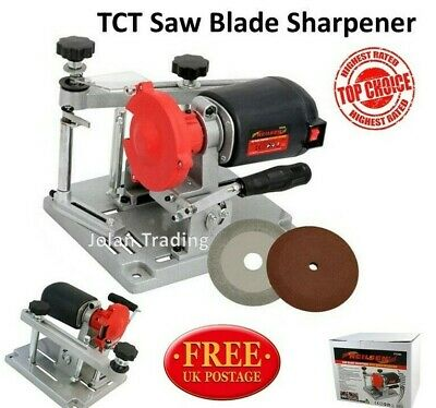 £74.99 • Buy TCT Saw Blade Sharpener With Bench Mounting Diamond Coated Disc Sharpen 5304