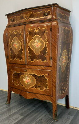 £699 • Buy Beautiful French Bombe Burr  Sideboard / Cabinet