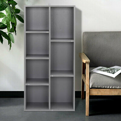 £45.95 • Buy 8 Cubes Tall Cabinet Bookcase Storage Rack Shelving Cupboard Unit Living Room