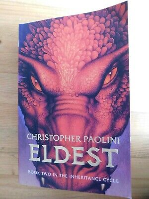 £4.80 • Buy Eldest: Book Two In The Inheritance Cycle By Christopher Paolini Paperback, 2006