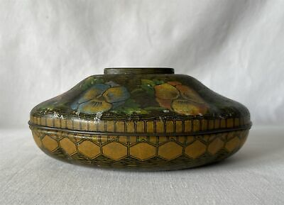 £29.95 • Buy Vintage Tin (Empty) ROWNTREE YORK Confectionary - Pansy Basket Shape / Theme