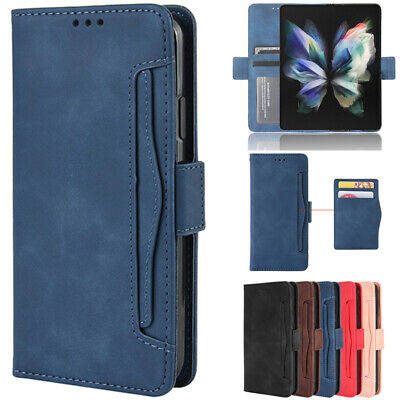 AU18.99 • Buy For Samsung Galaxy Z Fold 3 2 5G Case Magnetic Leather Removable Wallet Cover