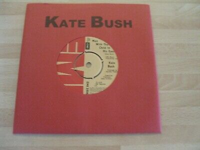 £1.49 • Buy Kate Bush 7  Single Printed Red Sleeve * Man With The Child In His Eyes *