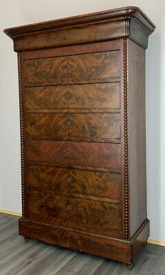 £499 • Buy French Antique Mahogany  Chest Of Drawers / Sideboard / Tallboy
