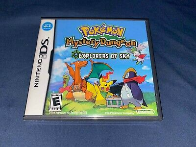 $1100 • Buy Pokemon Mystery Dungeon: Explorers Of Sky Nintendo DS New Factory Sealed RARE!