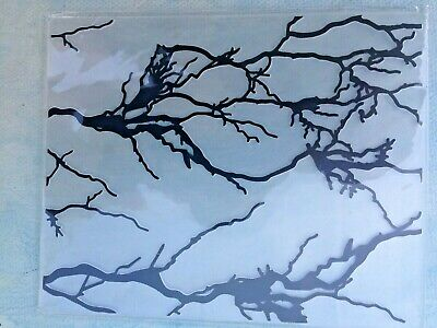 £2.99 • Buy Crooked Branches - Embossing Folder - Vgc - 125 Cm X 10.5 Cm