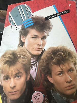 £58.09 • Buy  A-Ha In Their Own Words With COOUR POSTER Pal Mags Morten  Take On Me