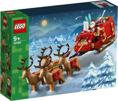AU118.95 • Buy LEGO 40499 Santa's Sleigh Brand New Sealed | Rare And Very Hard To Find