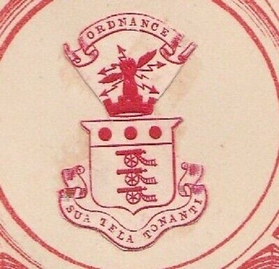 £1.20 • Buy Royal Army Ordnance Corps Raoc Rare Embossed British Army Paper Crest