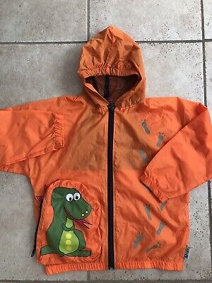 £8.90 • Buy Boys Dinosaur Rain Coat, Folding In A Bag,age 4 Years,excellent Cond