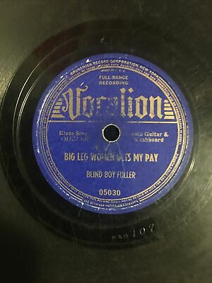 """£36.31 • Buy Bling Boy Fuller Very Rare Vocalion 05030 """"I Want Some Of Tour Pie"""" 78 Rpm"""