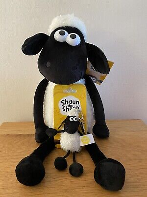 """£15 • Buy Shaun The Sheep 12"""" Soft Toy With Key Clip *** New Woth Tags ***"""