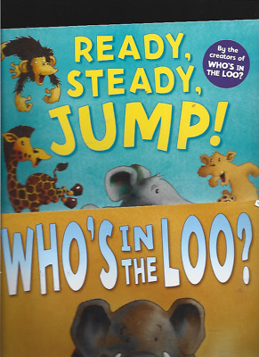 £6.53 • Buy Jeanne Willis/Adrian Reynolds:Who's In The Loo?/Ready Steady Jump
