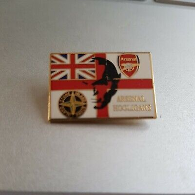 £5 • Buy Arsenal /England  Stone Island . Arsenal Hooligans Badge. Excellent Condition
