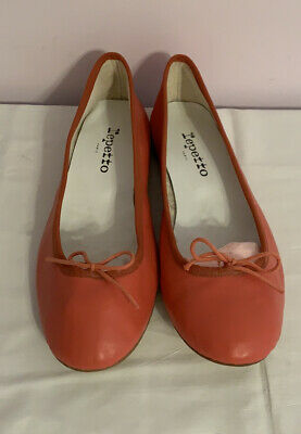 £87.29 • Buy New Repetto Leather Ballet Flats Shoes Size 40 US Size 9.5