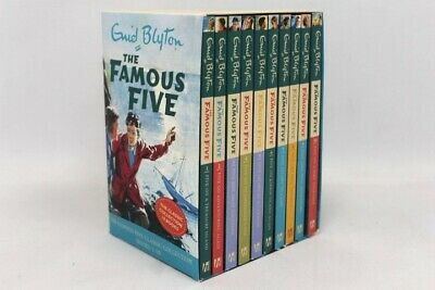 £4.99 • Buy ENID BLYTON THE FAMOUS FIVE Classic Collection 10x Paperback Box Set - N21