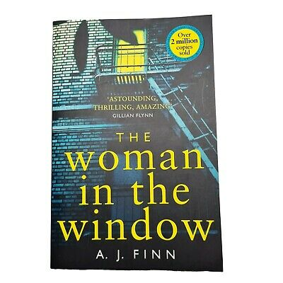 AU17.90 • Buy The Woman In The Window By A.J. Finn (2018) Netflix Movie Free Tracked Post