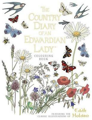 £11.99 • Buy Country Diary Of An Edwardian Lady Colouring Book By Edith Holden (English) Pape