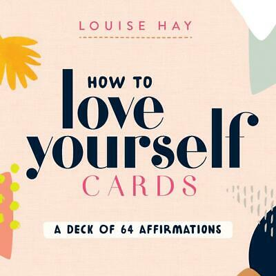 £14.49 • Buy How To Love Yourself Cards: A Deck Of 64 Affirmations By Louise Hay (English) Ha